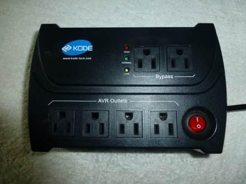 Regulador De Voltage Para Computadora Kode, Madelo K-avr