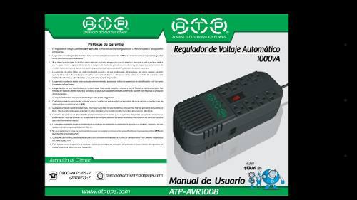 Regulador De Voltaje Equipos Electronicos, Tv, Moden Y Pc.
