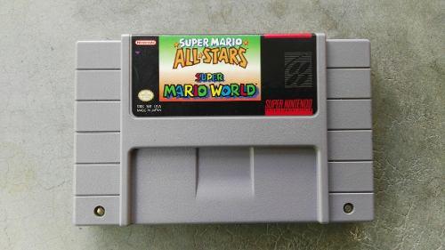 Super Mario All-stars And Super Mario World Super Nintendo