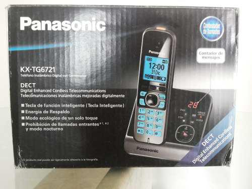Telefono Inalambrico Panasonic Con Contestadora