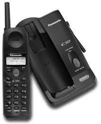 Telefono Inalambrico Panasonic Kxtc1484b Para Lineas Fijas