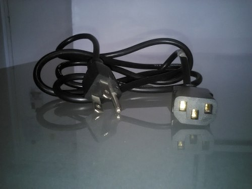 Cable De Energía Y De Extension Para Computadora / Monitor
