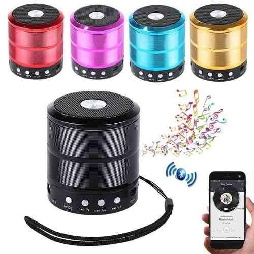 Corneta Mini Speaker Bluetooth Ws-887 Oferta
