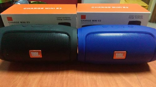 Corneta Portatil Jbl Charge 3 Mini Con Bluetooth