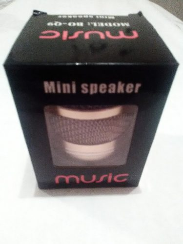 Corneta Portatil Mini Speaker Music (cilindro)