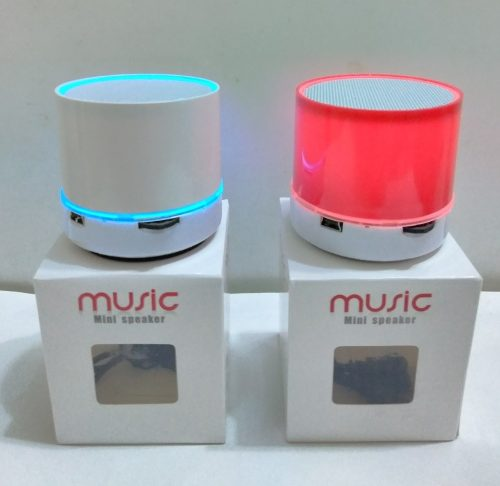 Corneta Portátil Cilindro Mini Music Usb Bluetooth Mp3