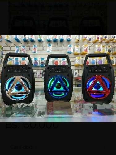 Cornetas Recargables Inalambricas Bluetooth Portatiles