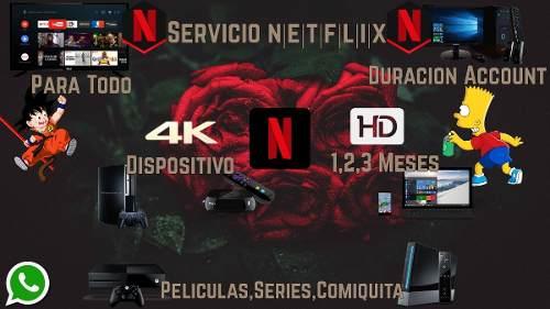 Cuentaa Netflix | 1/2 Months | Sin Caidas