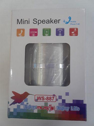 Mini Corneta Bluetooth/ Sd/ Plus