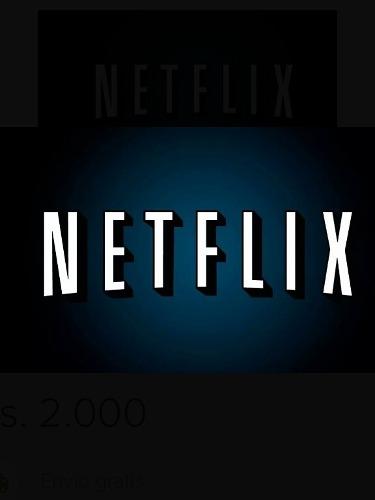 Neflix + 4 Screen + 1 Month