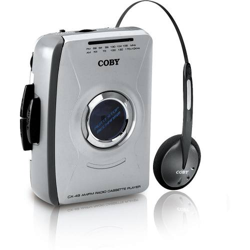 Radio Am/fm Coby Cx49 Stereo Cassette Player