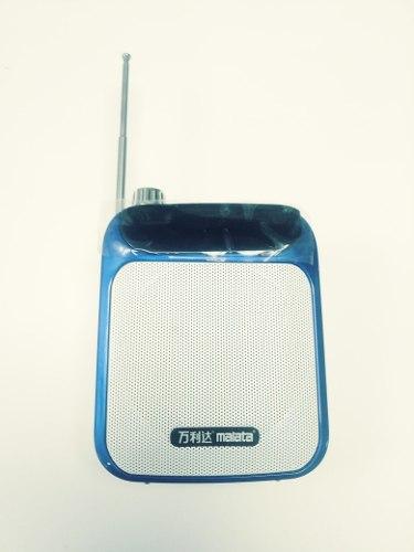 Radio Portatil Recargable, Usb, Micro Sd, Fm, Aux