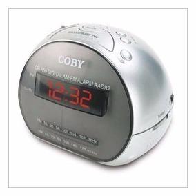 Radio Reloj Despertador Am Y Fm Coby