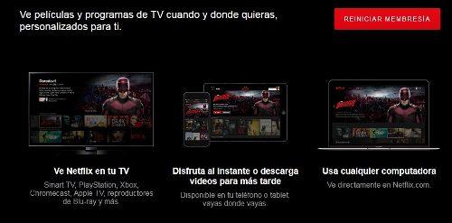 Servicio De Entretenimiento Netflix