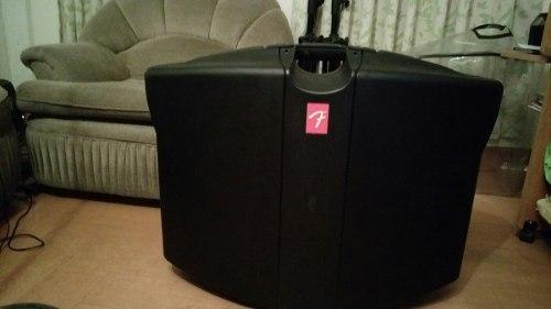 Sistema De Sonido Portátil Fender Passport Modelo Deluxe