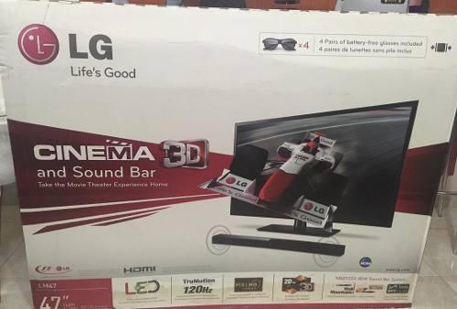 Tv Lg Led Plus Cinema 3d Smart Tv Full Hd 47 Nuevo