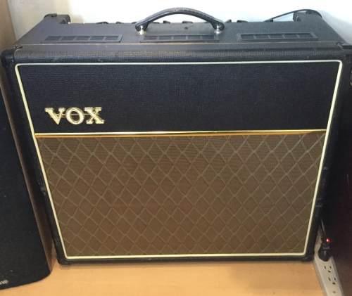 Amplificador De Guitarra Vox Ac 30 Valvular Original