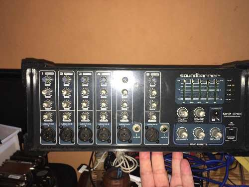 Amplificador Soundbarrier Mpm- Vendo O Cambio