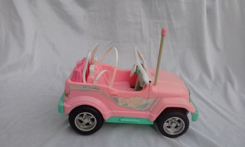 Carro Jeep De La Barbie Original De Matel