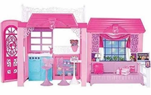 Casa Y Juegos De Muebles De Barbie