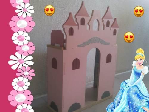 Castillo Casa Muñecas Barbie Juegos Juguetes Princesas