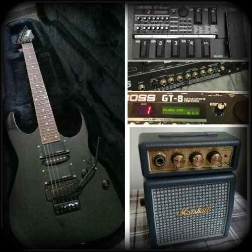 Combo De Guitarra Ibanez, Pedalera Y Amplificador