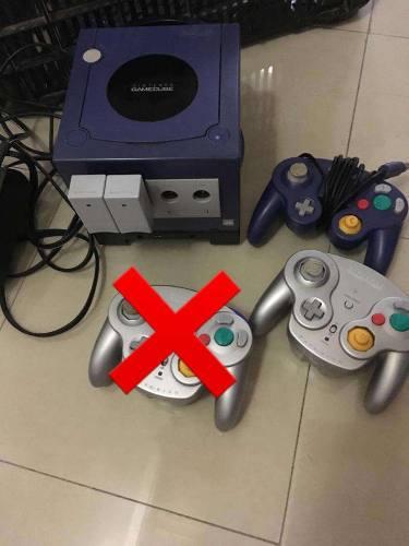 Consola Y Juegos De Gamecube