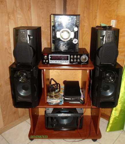 Equipo De Sonido Panasonic Sa Ak 780 5 Disc