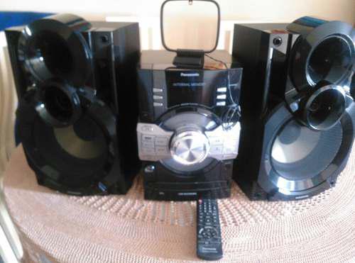 Equipo De Sonido Panasonic Sc Akx36 190verdes