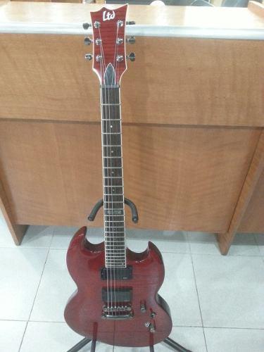 Guitarra Eléctrica 6 Cuerdas Esp Ltd B-200fm