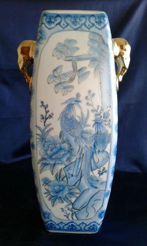 Hermoso Jarron De Porcelana China. Una Belleza¡¡