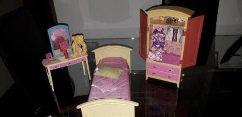 Juego De Cuarto Barbie Para La Consentida De La Casa