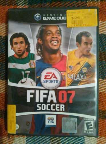 Juego Game Cube Fifa 07
