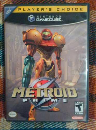 Juego Game Cube Metroid Prime