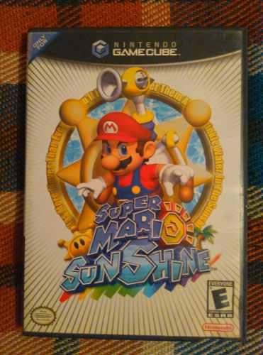 Juego Game Cube Super Mario Sunshine