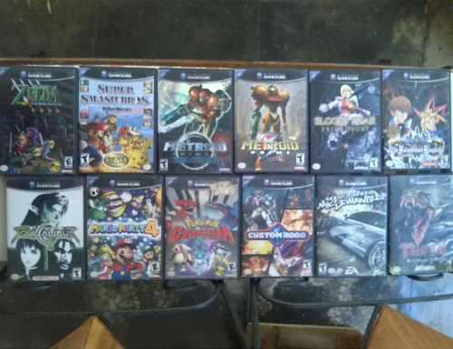 Juego Nintendo Gamecube Originales