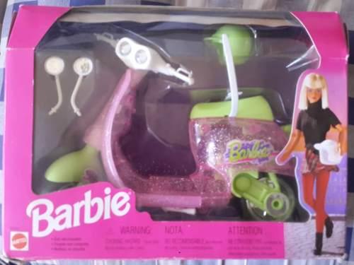 Juguete Moto De La Barbie Original