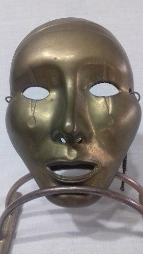 Mascara De Bronce, Made In India..398 Kgs