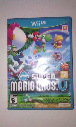 New Super Mario Bros U. Juego Original Para Wii U
