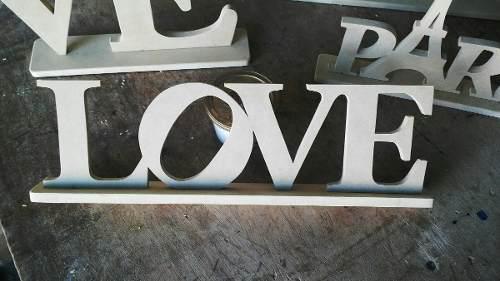 Bello Love En Mdf Listos Para Pintar
