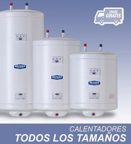 Calentador De Agua Record Electrico 27 Litros 35 Litros 50