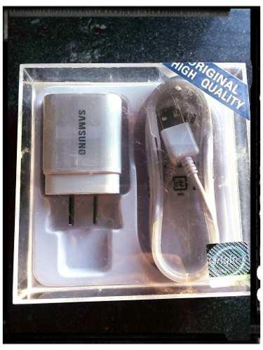 Cargador Samsung Carga 2.0 Am Caja Cristal + Regalo