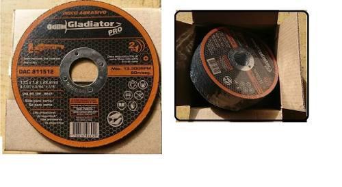 Disco De Corte Y Esmeril De 7 Pulgadas Para Metal -inoxidabl