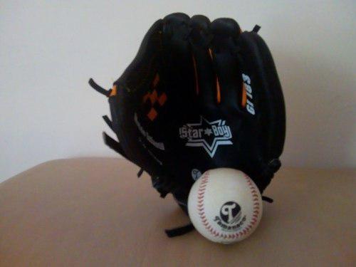 Guante De Beisbol Tamanaco Para Niños 2 Guantes + Pelota