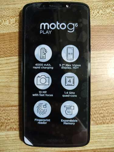 Motorola Moto G6 Play 2gb Ram 16gb Interna (14o)