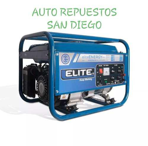 Planta Electrica 2.5 Kva 2500 Watts Elite A Gasolina