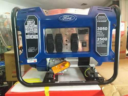 Planta Electrica Ford 3kva 3000 Watts