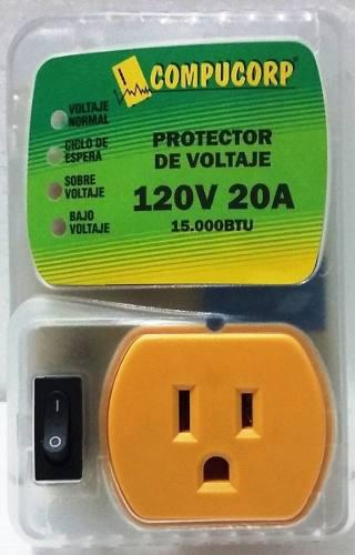 Protector De Voltaje Lavadoras Microondas 120v 20a Compucorp