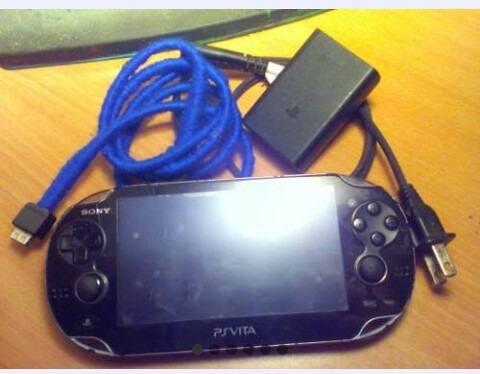 Psp Vita + Memoria 16gb+ 4 Juegos Originales
