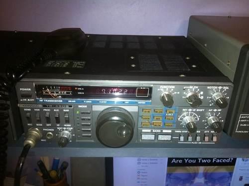 Radio Hf Kenwood Ts 430s Con Fuente De Poder Y Tunner